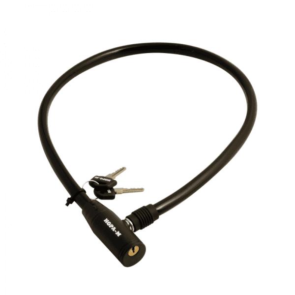 Велосипедный замок модель №20 (Черный) 6*650мм