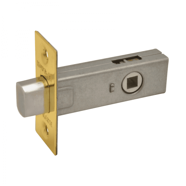 Задвижка дверная модель З-45 (Полированая латунь)