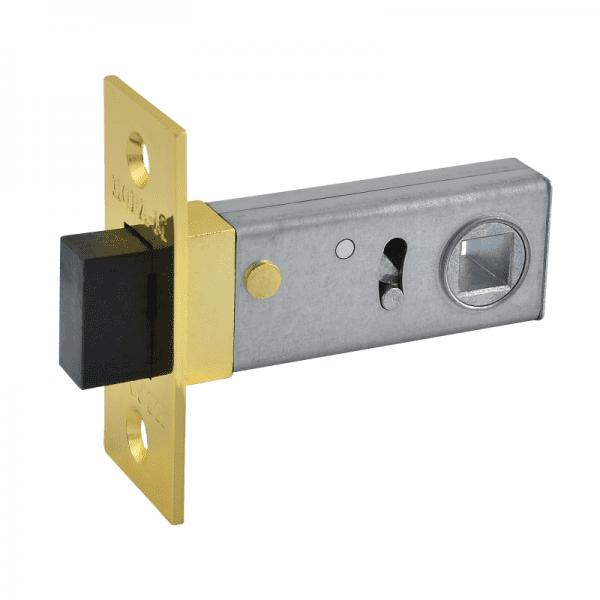 Защелка дверная магнитная модель С-50М (Полированая латунь)