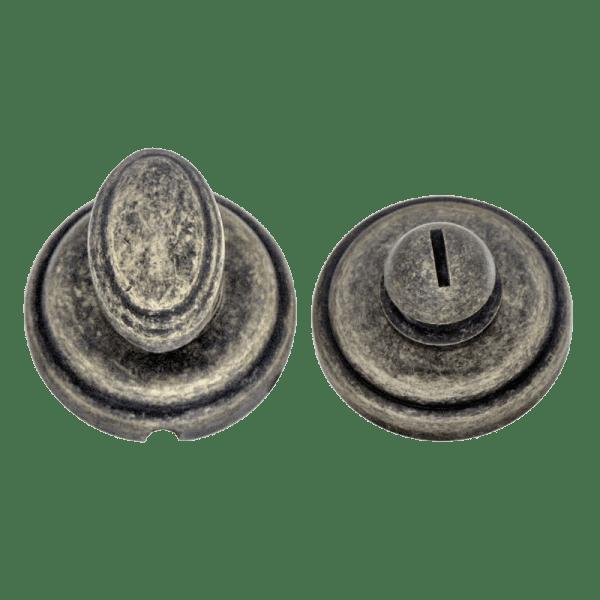 Завертка сантехническая модель НФ (J) (Застаренное серебро)