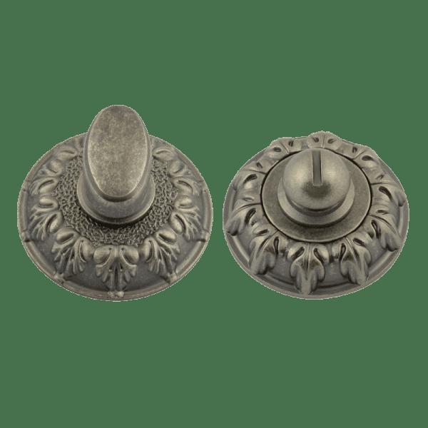 Завертка сантехническая модель ГРАСИОЗА НФ (Застаренное серебро)